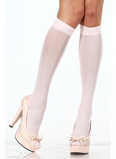 Pierre Cardin 3'Lü Mikrofiber Mat Dizaltı Çorap Beyaz